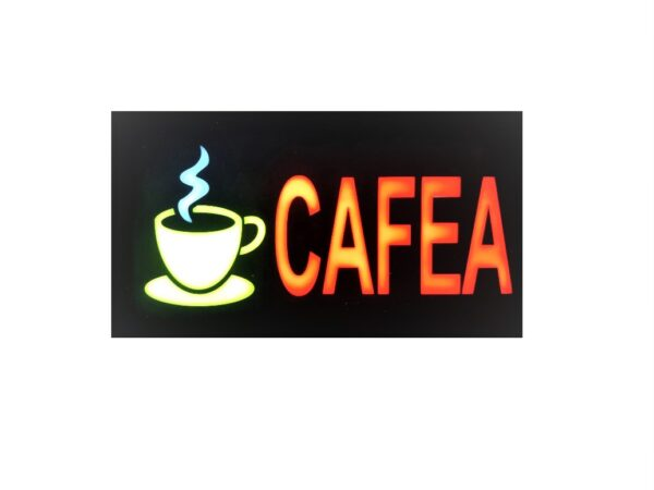Panou led cafea exterior